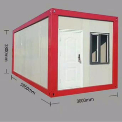 New style real estates prefab container house