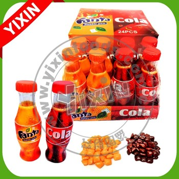 cola and fanta flavor custom mastic chewing gum