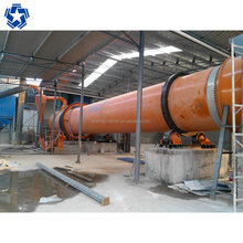 Small sand rotary drum dryer for drying sand