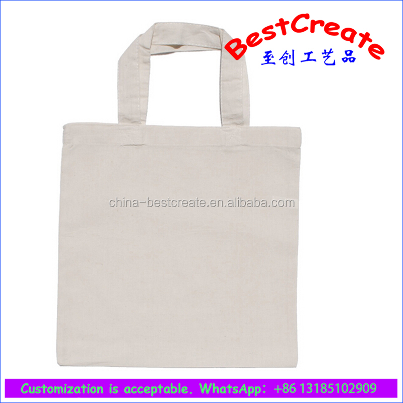 2018 pure color cotton bag 8oz cotton shopping bag with customized printing
