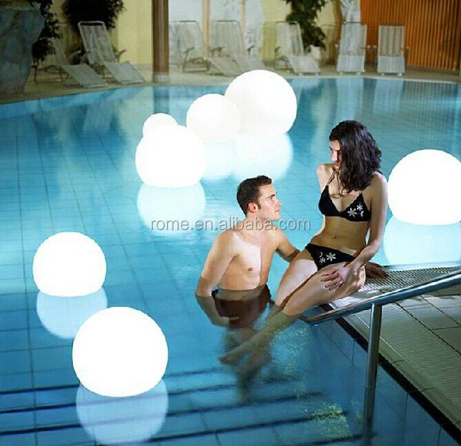 floating swimming pool ball light outdoor event led illuminated ball lights