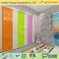 Customized pole system diy colorful walk in wardrobe removable wardrobe