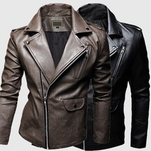 Men's Chopper Motorcyle Brown Military Style Blazer Jacket Online Shop