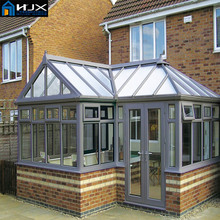 safety glass aluminum sunshine hut, glass aluminum sunlight room