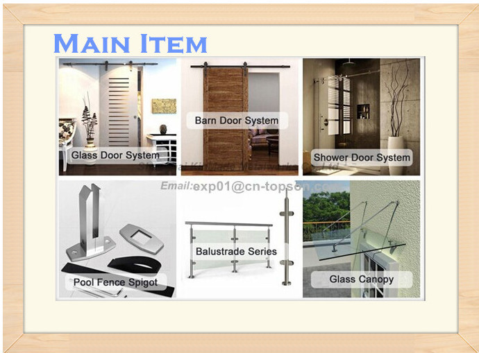 Interior Sliding Wood Barn Door Hardware /Partition door System