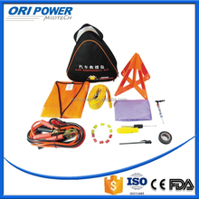 OP CE FDA ISO approved wholesale fluorescence tripod outdoor auto emergency repair kits