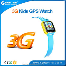 Colorful Touch Screen Kids Smart Watch GPS Wrist Watch Tracker 3G Support Online GPS Tracking