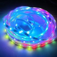 addressable rope light led strip rgb dc5v dc12v ws2811ic ws2812 ic 5050 strip light