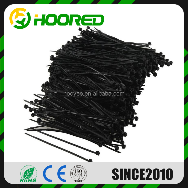 Hight quality 2.5*100mm export to USA Nylon 66 Plastic Self - locking Nylon Cable Ties Cable Zip