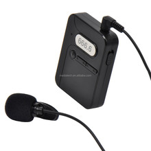 FM Wireless Lapel Microphone for conference/tour guide/simultaneous interpretation/teacher classroom audio system