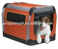 Foldable Fabric Pet Tent with firm steel frame
