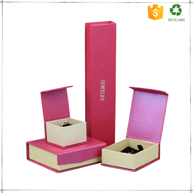 Professional OEM high quality paper jewelery packaging box