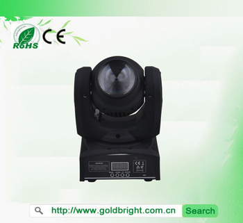 12W RGBW 4in1 Dual side mini led moving head beam stage lighting