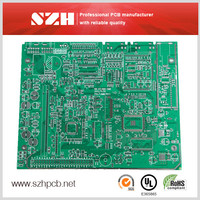 4 Layers Immersion gold 1.6mm 2OZ Printed circiut board Customized Ego Pcb Circuit Board