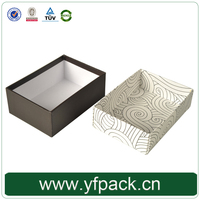 Custom Fancy High Quality Fashion Cardboard Paper Unique Hanging Storage Gift Tie Boxes
