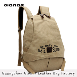 Hot Sale Canvas Backpack Bag Army Hiking Backpack