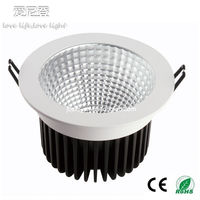 5 inch led downlight High Power 3 Warranty years led cob downlight Dimmable 18w/26w/32w CREE COB CE&RoHs