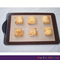 Oven Safe FDA wholesale silicone baking mat,pizza pan