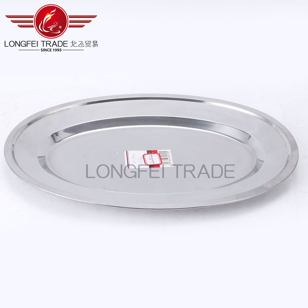 best selling in china market 22cm stainless steel steel dish/steel tray