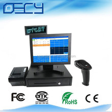 Whosale all in one pc manufacturer touch screen black cash registers