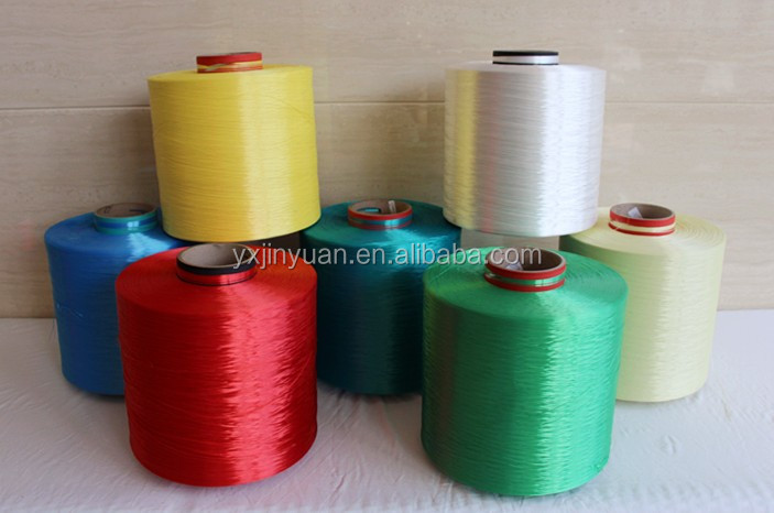 fluorescent High Tenacity 100 Polyester yarn