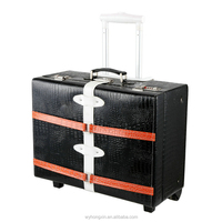 PU leather luggage case from Zhejiang