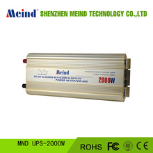 Low price 2000W UPS DC12V TO AC220V 50HZ Pure sine wave inverter for solar off grid system,household,travelling,campingetc