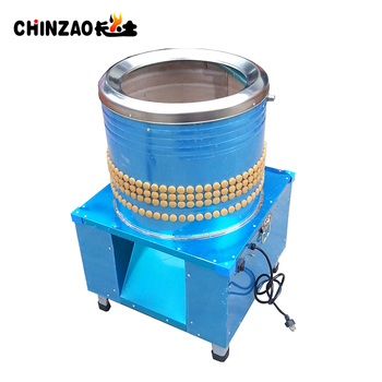 2019 Chinese Manufacture Chicken Plucker Machine Small Scale Poultry Chicken Plucker