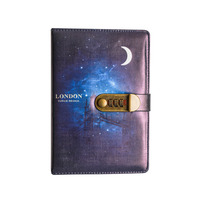 Combination Lock Diary Custom Academic Year Electronic Secret Diary