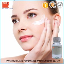 Non-ionic silicone surfactant skin care oil cyclomethicone
