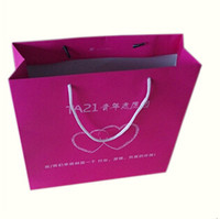Shopping Industrial Use and Screen Printing Surface Handling custom printed paper bags