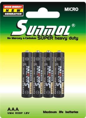 hot chinese AAA 1.5V battery products