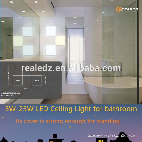5w ZigBee CCT Dimmable Ultrathin LED light Ceiling LED Panel