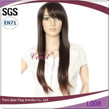 Natural wave new style fashionable asian style hair wigs for white women