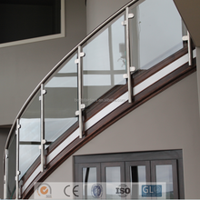 Cheap Stair Glass Railing Prices Stainless Steel Balustrade For Staircase Railing