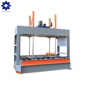 Woodworking wood laminate hydraulic cold press machine for door making