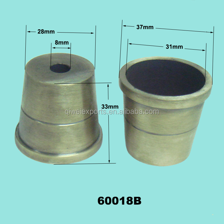 High Quality Brass Furniture Caster Cups for Sofa, Chair 60018B