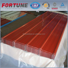 Color coated mild steel plate AL-ZN galvalume steel with green back galvanized steel coil corrugated roofing sheet metal