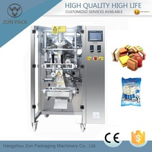 Automatic chocolate bar packaging machine
