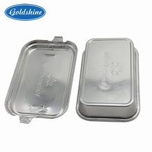 Inlight aluminum foil casserole food packing airline container with lid disposable household safe