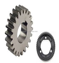 Professional custom steel large gear, double diameter small spur gear