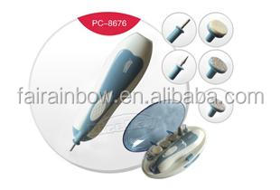Electric nail shaping tool