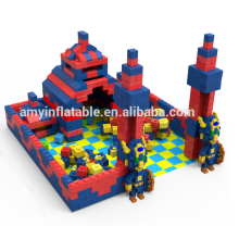 Indoor commercial playground used soft bricks EPP cube building sets giant building blocks house