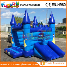 Kids inflatabl princess bouncy house frozen jumping castle