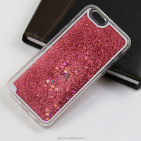 Hard Plastic Liquid Glitter Stars Water Filled Mobile Phone Case Cover Fit for iPhone 6s/6splus