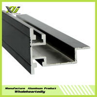 2015 hot sale anodized decorative aluminum extrusion housing/box from manufacturer