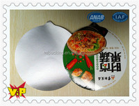 supply yogurt lid aluminum foil, sealing plastic cup lid, yogurt cup aluminum foil lid film