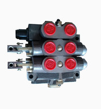 50l/min 2 spools hydraulic sectional directional control valve for earth moving machines DF-50 series