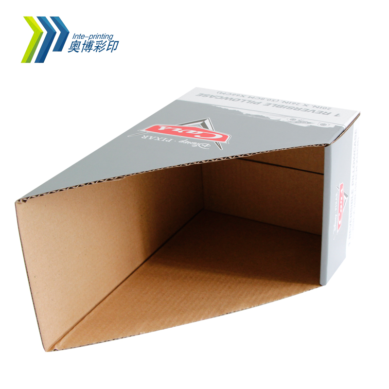 2017 Custom Design Print Paper Display Box Carton Box Corrugated Box