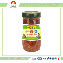 Chinese pickle manufacturer , preserved food in bottle